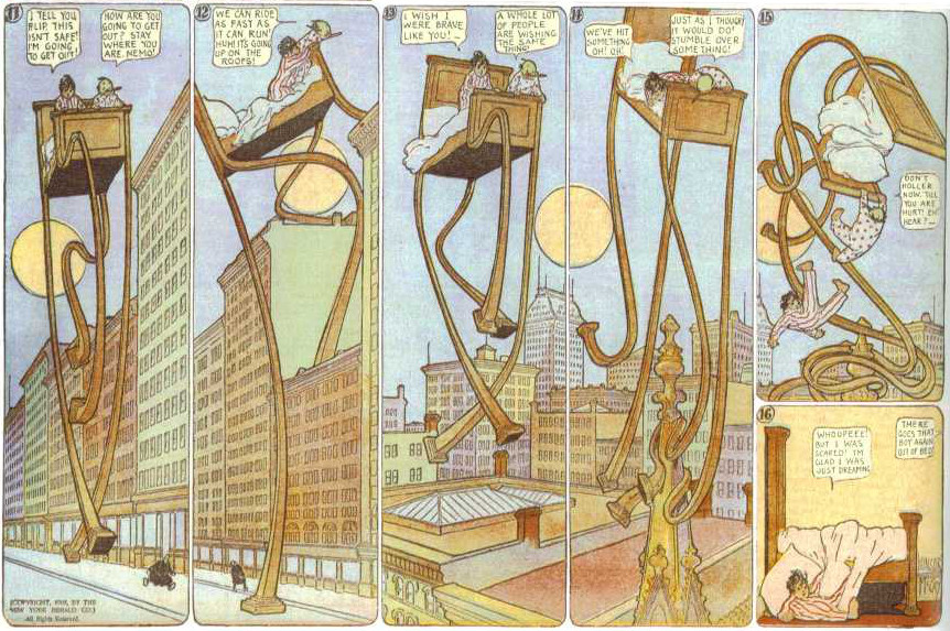 Little Nemo in Slumberland by Winsor McCay, 1908