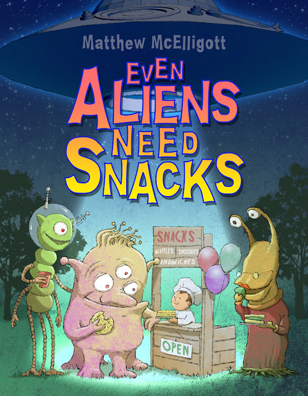 Even Aliens Need Snacks