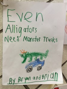 Even Alligators Need Monster Trucks